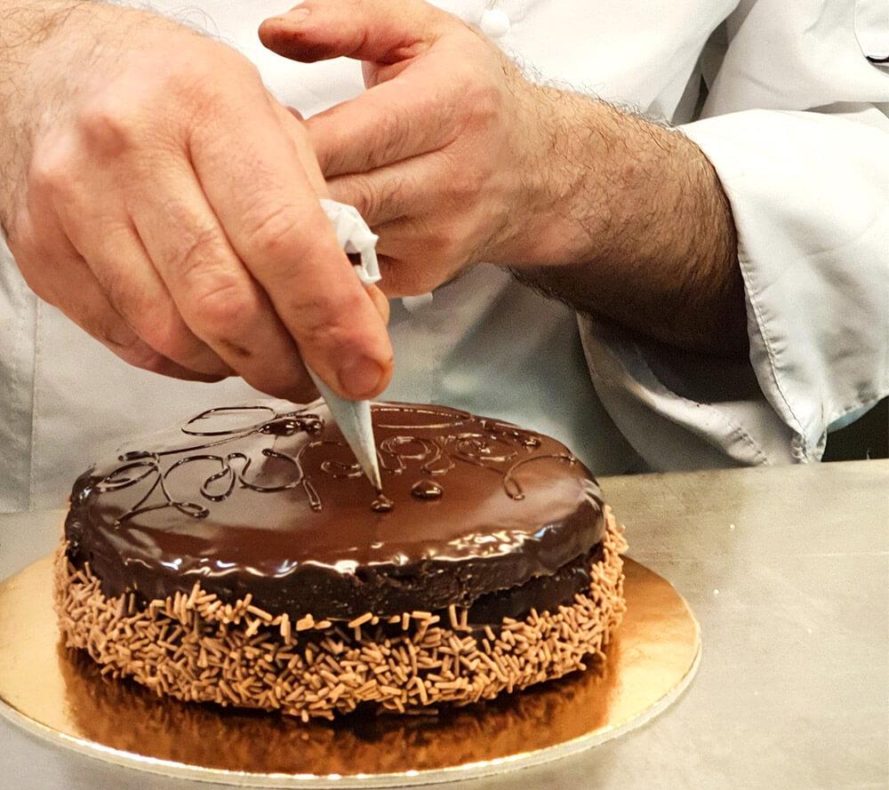torta personalizzata cuoco